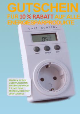 Gutschein Energie-Spar-Shop